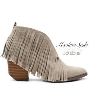 Shoes - Brand new fringe booties